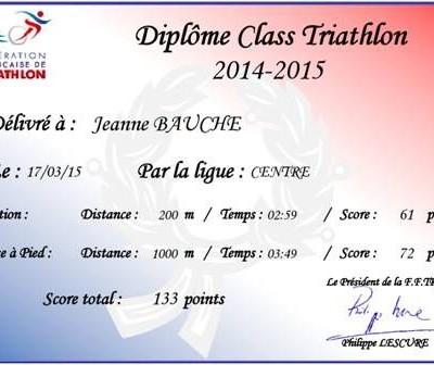 Diplôme Class Tri